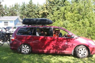 2- Palmer Family Leaving PEI enroute back to Calgary